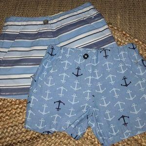 🌴Nautica🌴Like New!! Girls shorts Bundle! Size 8.
